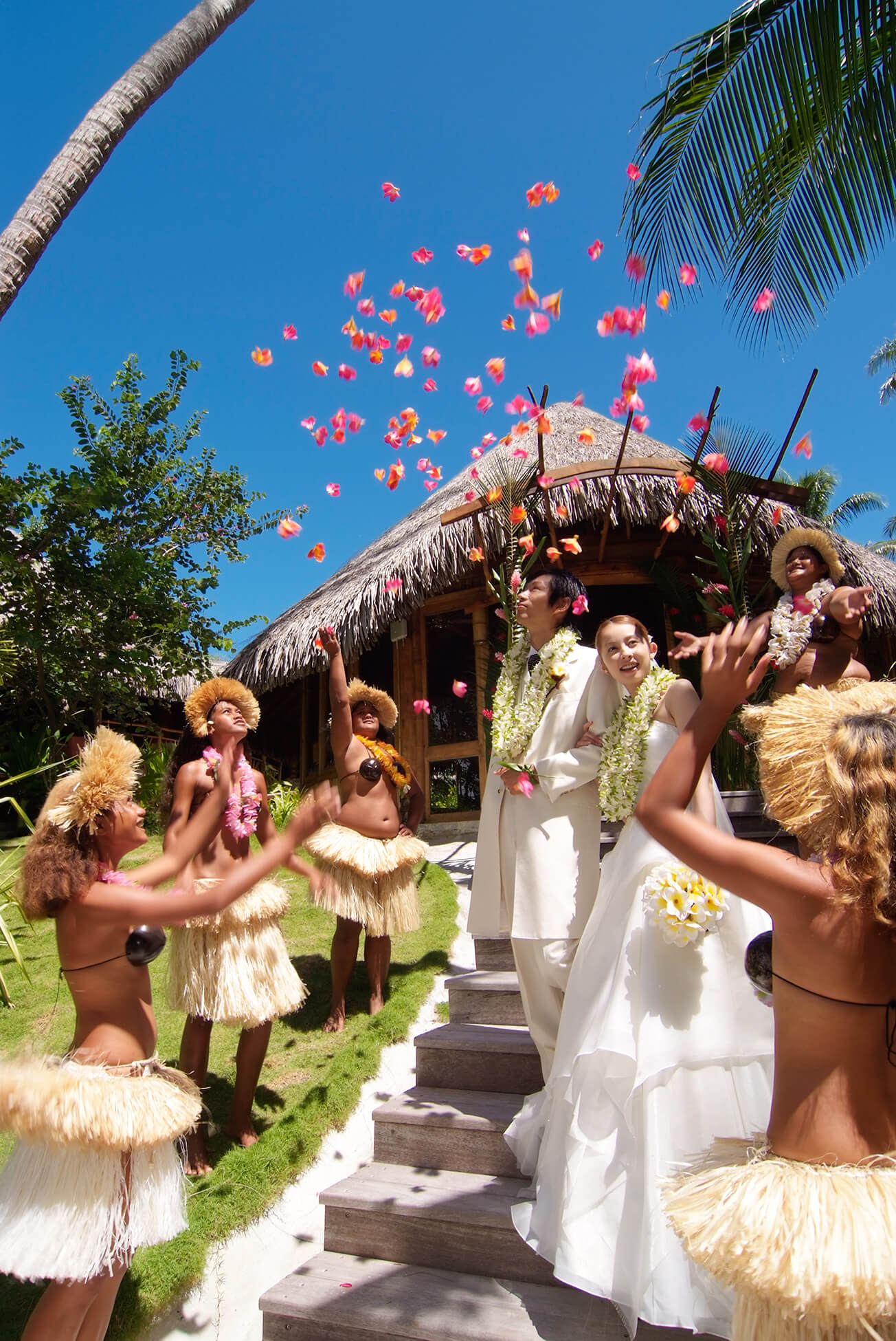 Wedding at the Bora Bora Pearl Beach Resort